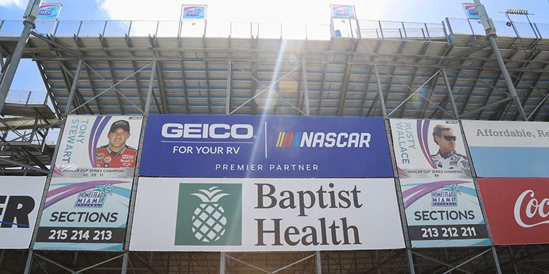 Grandstand Banners
