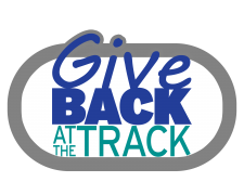 Give Back at the Track logo